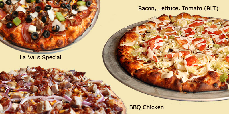 pizza menu header